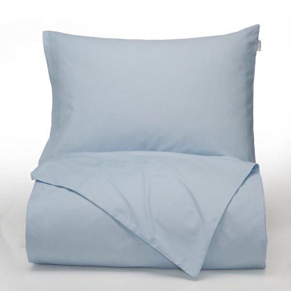 Percale Macio Capa de Edredão Azul Bianca