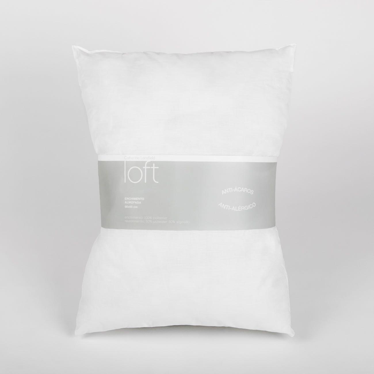 Enchimento Almofada Anti-Ácaros 50x65 cm Branco Catherine Lansfield