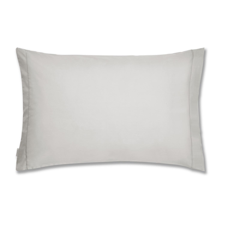 Plain Dye Grey Pillowcase