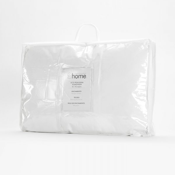 Enchimento Almofada Eco Penugem Branco Catherine Lansfield