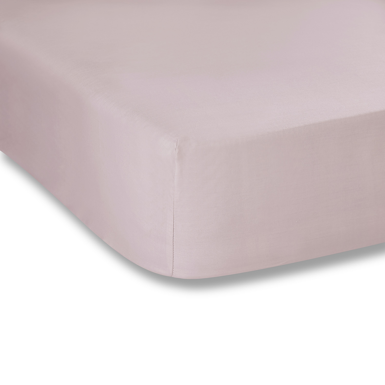 Percale Macio Lençol Capa Rosa Bianca