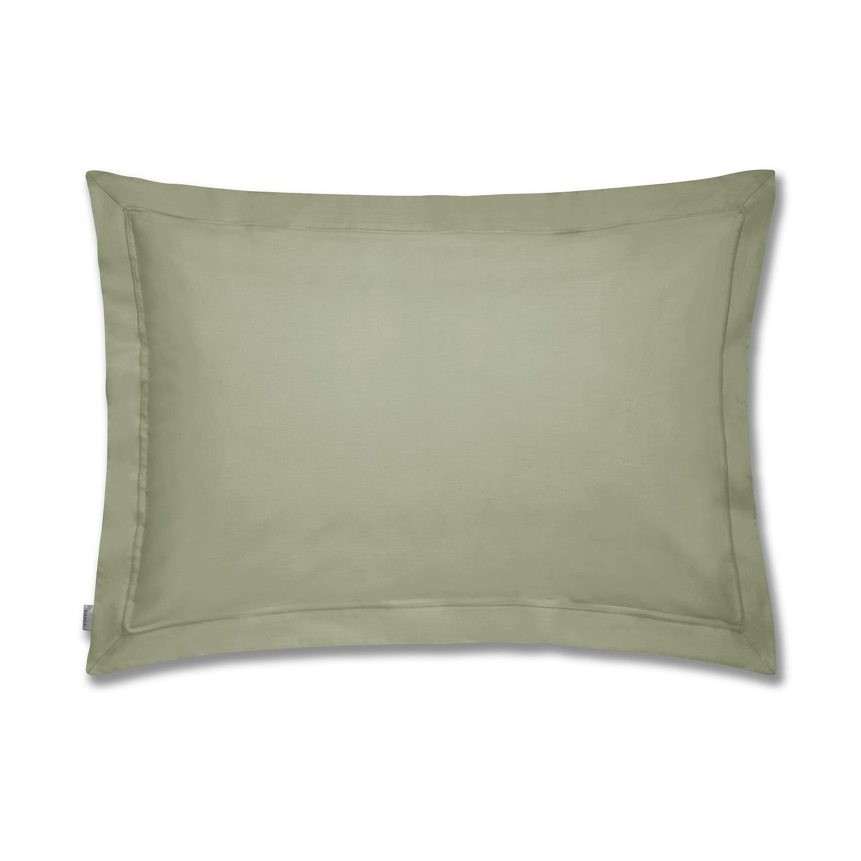 Percale Macio Fronha c/ Aba Verde Militar Bianca
