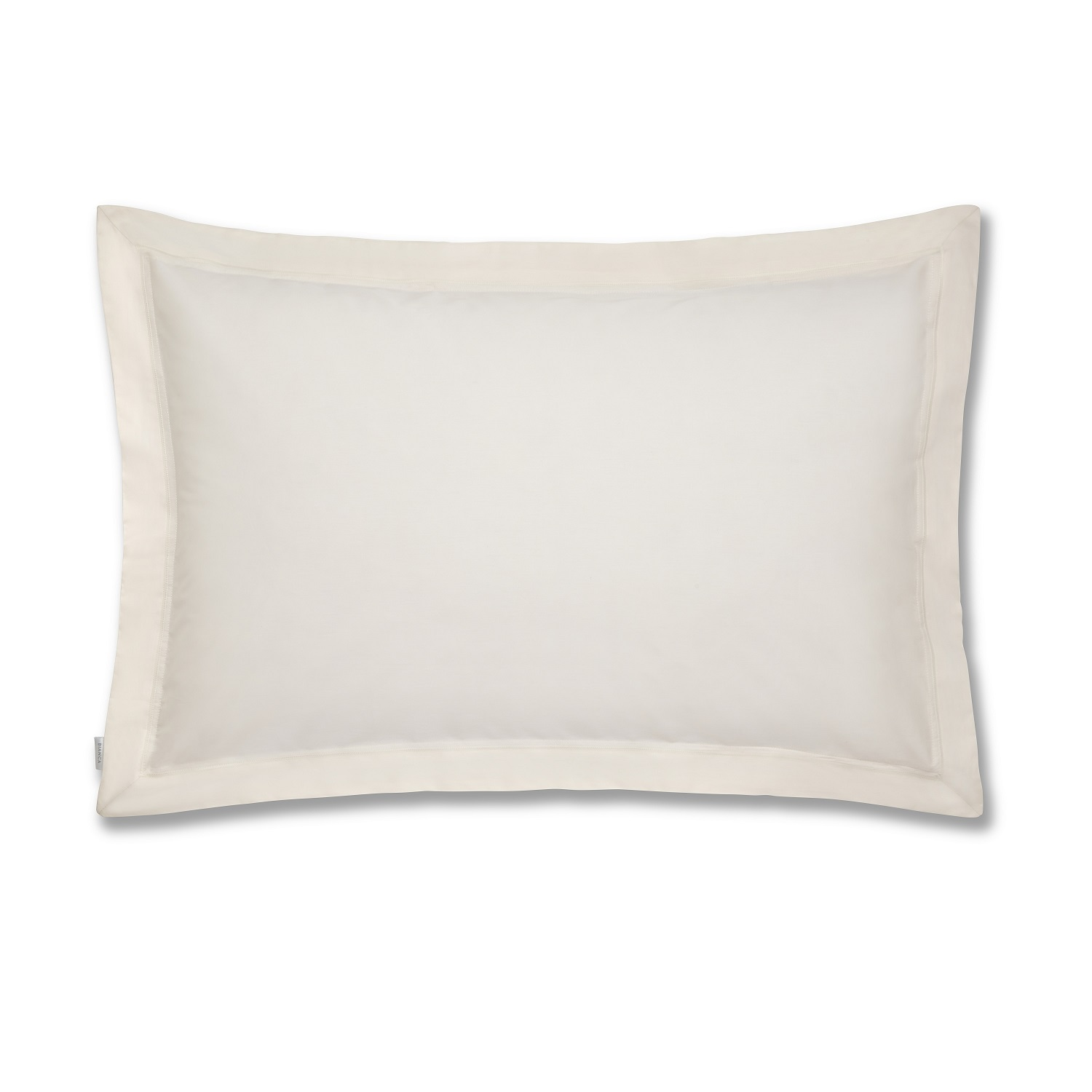 Plain Dye Cream Pillowcase OXFORD