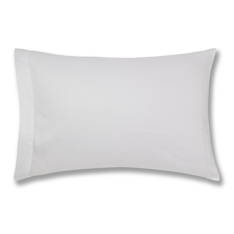 Playn Dye White Pillowcase