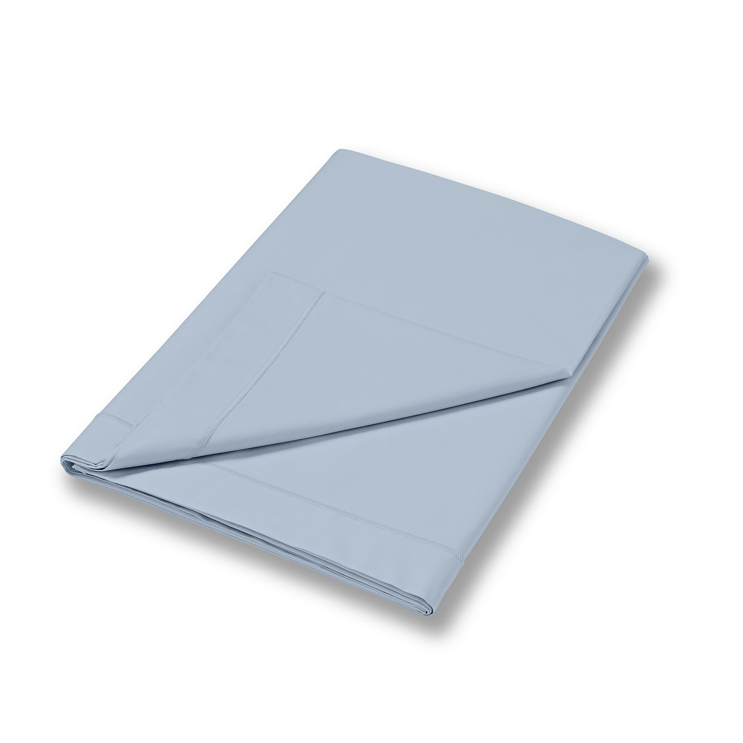 Soft Plain Dye Flat Sheet Blue