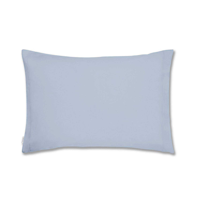 Soft Plain Dye Pillowcase Blue