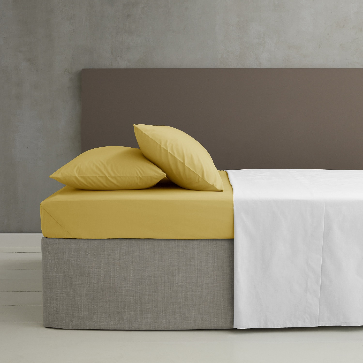 SoSoft Ochre Fitted Sheet