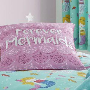 Mermaids Forever Capa de Almofada Catherine Lansfield