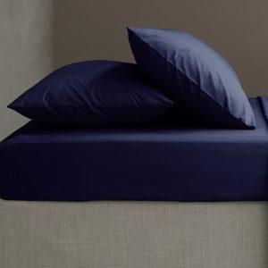 So Soft Percale Lençol Capa Azul Marinho Catherine Lansfield