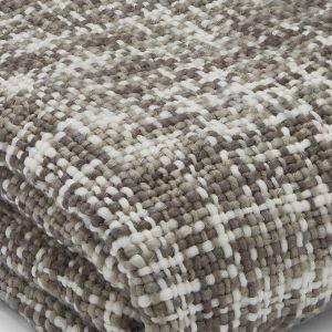 Tonal Weave Manta Cinza Catherine Lansfield