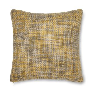 Tonal Weave Capa de Almofada Amarelo Catherine Lansfield