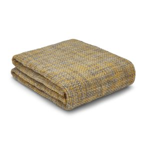 Tonal Weave Manta Amarelo Catherine Lansfield