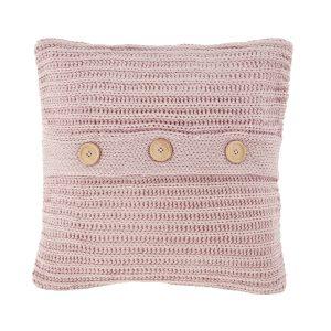 Chunky Knit Capa de Almofada Blush Catherine Lansfield