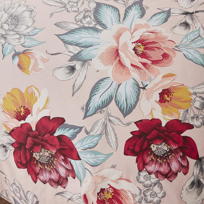 Capa de Edredão Rosa Isla Floral