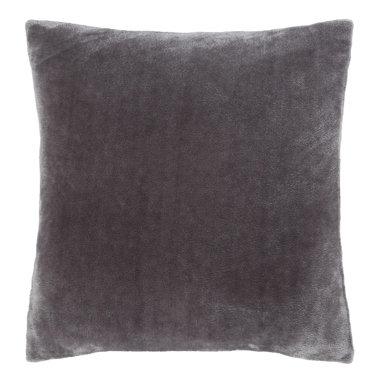 Raschel Velvet Capa de Almofada Cinza Escuro Catherine Lansfield